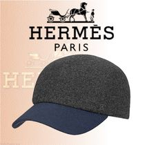 HERMES 2018-19AW Casquette Nevada キャップ ウール