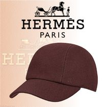 HERMES 2018-19AW Casquette Miles キャップ テクニカルウール