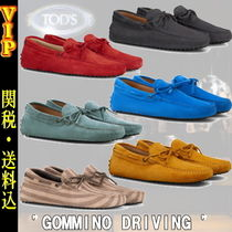"""TOD'S(トッズ) ドレスシューズ・革靴・ビジネスシューズ ◆◆VIP◆◆ TOD'S  """"GOMMINO"""" DRIVING SHOES IN SUEDE / 送税込"""