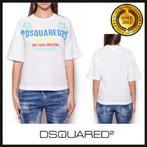 D SQUARED2 ディースクエアード ロゴTシャツ S72GD0076