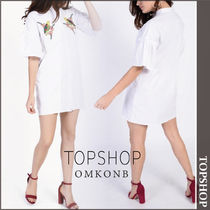 【国内発送・関税込】TOPSHOP★Embroidered Dress by Glamorous