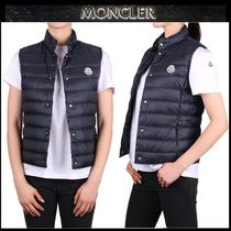 【MONCLER】18SS LIANE 軽量 コンパクト ダウンベスト NAVY/EMS