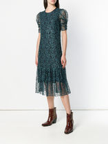 SEE BY CHLOE★flared patterned dress
