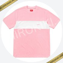 【18SS】Supreme Chest Stripe Terry Top Tee タオル地 Pink 桃