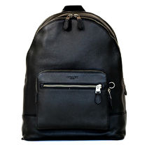 ブラック☆COACH☆WEST BACKPACK  F23247