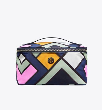 Tory Burch メイクポーチ Tory Burch☆NYLON LARGE TRAIN CASE☆メイクポーチ ☆47874(2)