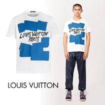 LOUIS VUITTON ルイヴィトン Tシャツ ハンドペイント 白 ロゴ