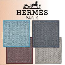 HERMES 2018-19AW Carre H 140 Tinos スカーフ シルク