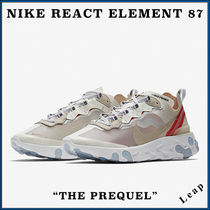 "【Nike】激レア 限定 ナイキ REACT ELEMENT 87 ""The Prequel"" SL"