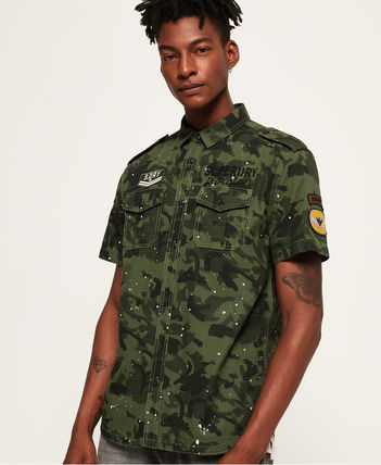 Superdry (極度乾燥しなさい)★Army Tropics Short Sleeve Shirt