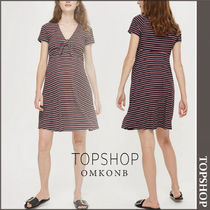 TOPSHOP(トップショップ) マタニティワンピース 【国内発送・関税込】TOPSHOP★MATERNITY TieFront Skater Dress