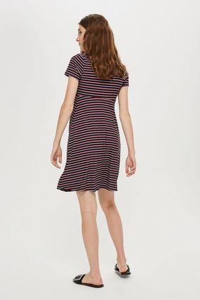 TOPSHOP マタニティワンピース 【国内発送・関税込】TOPSHOP★MATERNITY TieFront Skater Dress(4)