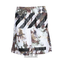 ☆Off-White☆ CAMOUFLAGE MESH SHORTS  迷彩 メッシュトレパン