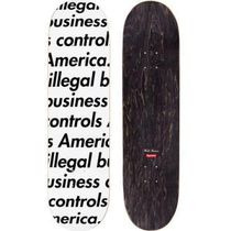 Supreme Illegal Business Skateboard スケートボード デッキ