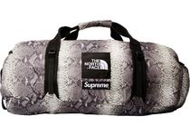 Supreme The North Face Snakeskin Flyweight Duffle Bag 黒