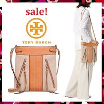 セール 新作 Tory Burch 未発売  Moto Tall Canvas Cross Body