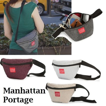 ManhattanPortage★Midnight Retro Bag キラキラ生地が眩しい♪