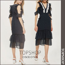 【国内発送・関税込】TOPSHOP★Polka Dot Dress by Hope & Ivy