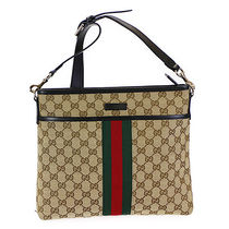 GUCCI   ショルダーバッグ Exclusive  GG柄  BEIGE×BLACK