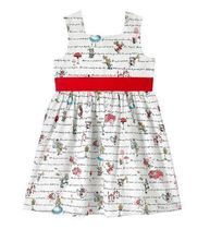 CathKidston アリス 限定 コラボ ◇ GIRLS MINISLEEVELESS DRESS