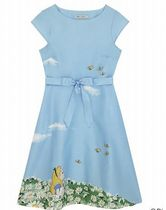 CathKidston アリス 限定 コラボ ◇ MEADOW COTTON SATEEN DRESS