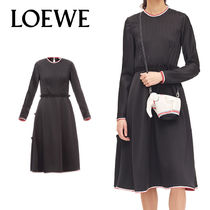 追跡ありで安心☆LOEWE Long Sleeve Dress
