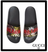 セールGucciグッチPursuit Blind For Love Slide Sandalサンダル