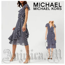 ★カワイイ!安心追跡付★MICHAEL KORS Dot Dress MS88XST8MU