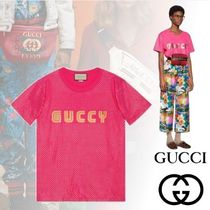 2018ss Gucci GUCCY プリント Tシャツ