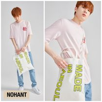 NOHANT(ノアン) エコバッグ 新作★NOHANT(ノアン)★MADE IN SEOUL ECO BAG LIME