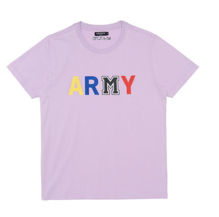 MSKN2ND Tシャツ・カットソー ☆MSKN2ND ☆ Tシャツ ARMY M PRINTED SS T-SHIRT 男女兼用 (6)