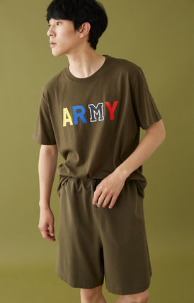 MSKN2ND Tシャツ・カットソー ☆MSKN2ND ☆ Tシャツ ARMY M PRINTED SS T-SHIRT 男女兼用 (17)