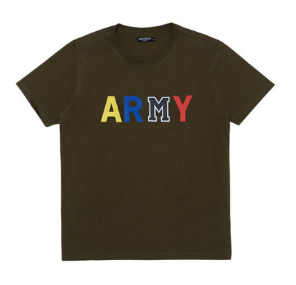 MSKN2ND Tシャツ・カットソー ☆MSKN2ND ☆ Tシャツ ARMY M PRINTED SS T-SHIRT 男女兼用 (19)