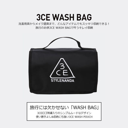 3 CONCEPT EYES メイクポーチ 3CE★ウォッシュバッグ【追跡送料込】(2)