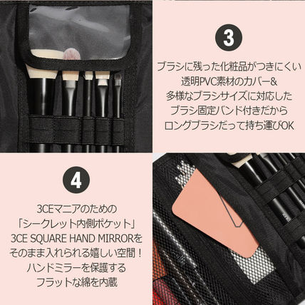 3 CONCEPT EYES メイクポーチ 3CE★ウォッシュバッグ【追跡送料込】(8)