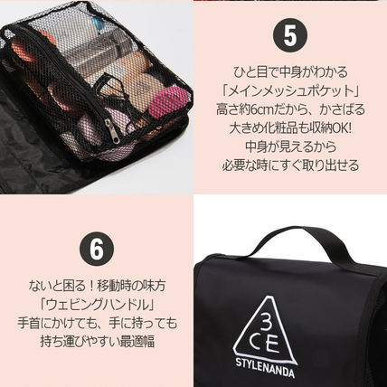 3 CONCEPT EYES メイクポーチ 3CE★ウォッシュバッグ【追跡送料込】(9)