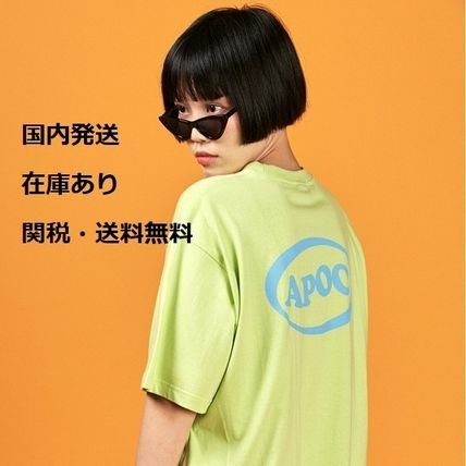 【正規品・送料無料】A PIECE OF CAKE Oval Logo 1/2 T-shirts