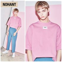NOHANT(ノアン) Tシャツ・カットソー 新作★NOHANT(ノアン)★DO-NOT-REVERSE T-SHIRT pink