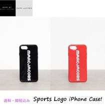 Marc Jacobsマークジェイコブス★Sport Logo iPhone8/7ケース