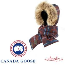 CANADAGOOSE(カナダグース)Pendleton Down-Filled Hooded Scarf