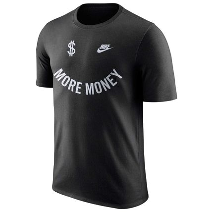 Nike Tシャツ・カットソー 日本未発売!! NIKE AIR MORE MONEY エアモアマネー Tシャツ(4)