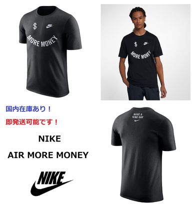 Nike Tシャツ・カットソー 日本未発売!! NIKE AIR MORE MONEY エアモアマネー Tシャツ