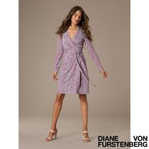 DVF The New Jeanne Silk Jersey Wrap Dress