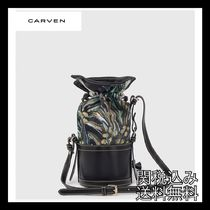 CARVEN★パームサリーバケットバッグ
