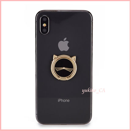 kate spade new york iPhone・スマホケース 【国内発送】Cat Stability Ring Stand セール(2)