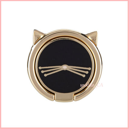 kate spade new york iPhone・スマホケース 【国内発送】Cat Stability Ring Stand セール(3)