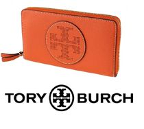Tory Burch 長財布 PERFORATED LOGO ZIP CONTINENTAL WALLET