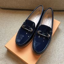 VIP価格★国内即納TOD'SトッズLEATHER  LOAFERS MOCCASINS36.5