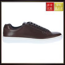 【チャーチ】Mirfield Sneakers In Antic Leather Brown With