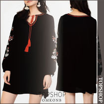 【国内発送・関税込】TOPSHOP★Embroidered Tunic by Glamorous